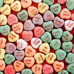Valentine's Day candies