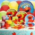 Hooray Elmo Birthday Party Theme
