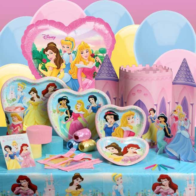Disney Princess Birthday Party Ideas Themeaparty