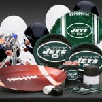 New York Jets party supplies kit