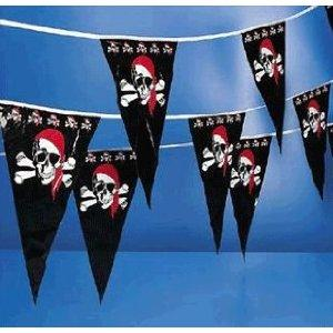 pirate pennant party supplies