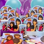 Camp Rock Birthday Party