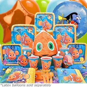 Finding nemo birthday party themeaparty for Nemo decorations