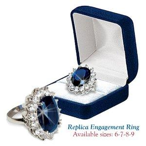 Kate Middleton engagement ring replica