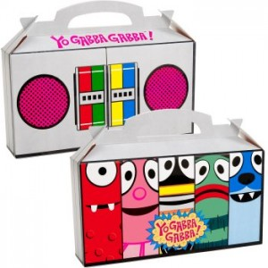 Yo Gabba Gabba party box favor
