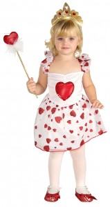 Valentine's Day kids costume dress