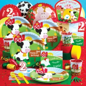 Barnyard 2nd Birthday Party kit