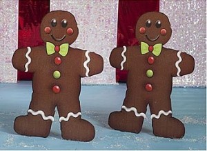gingerbread stand ups