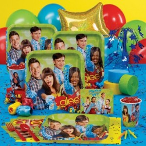 Glee Party theme supplies