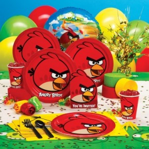 Angry birds party ideas themeaparty for Angry birds party decoration ideas