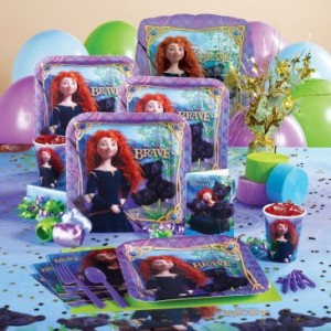 Disney's Brave Princess Merida party supplies