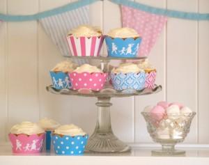 Cupcake tea party