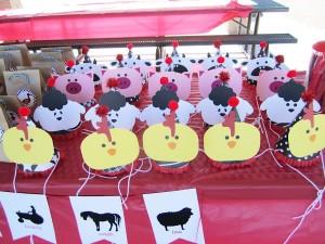 Farm Barnyard Party Hats