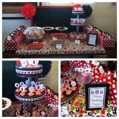 ladybug party treats