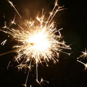 New Years Eve Sparklers