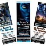 Avatar Movie Party Invitation ideas