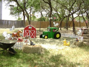 barnyard backyard party