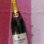 champagne valentine's day