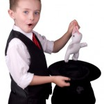 Child Magician at a Kid's Party