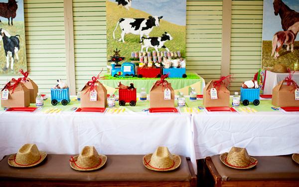moo moo choo choo farm birthday