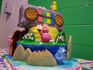 dancey dance yo gabba gabba cake