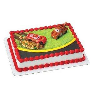 disney cars cake topper