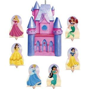 disney princess castle cake toppers