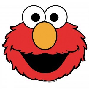 elmo face template