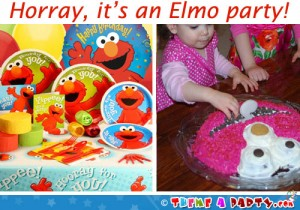 elmo theme party