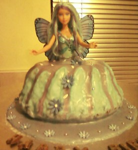 fairytale doll cake