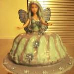 fairytale doll cake
