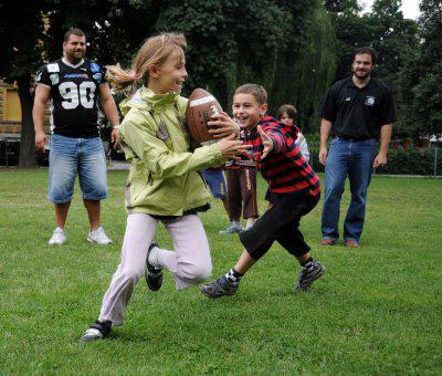 family touch football