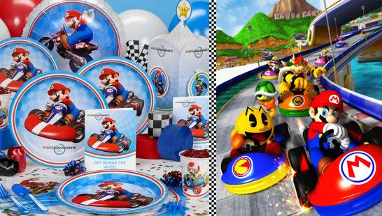 Mario Cart Wii Party Ideas
