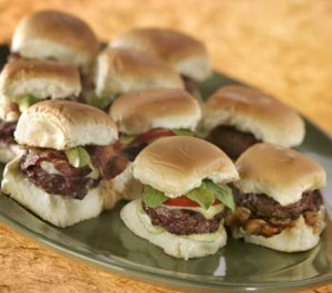 sliders party food
