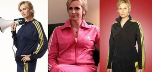 Sue Sylvester Fashion Collage
