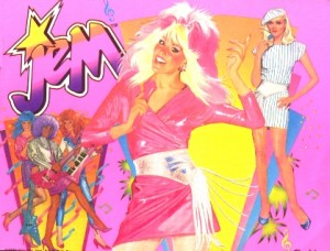 jem and the holograms theme party