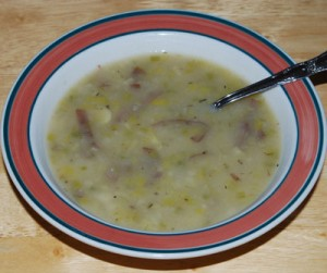 Irish Leek and Potato Soup for St. Patrick's Day