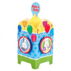 max & ruby centerpiece
