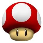 Mushroom Super Mario graphic