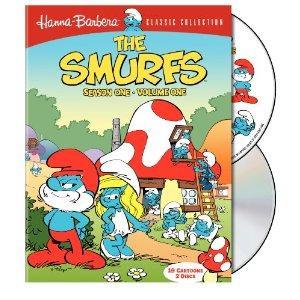 smurfs dvd