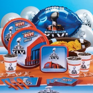 Super Bowl XLVI party Kit
