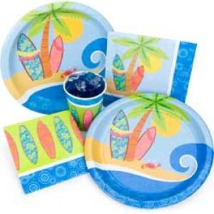surf party luau kit