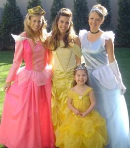 teen princess parties