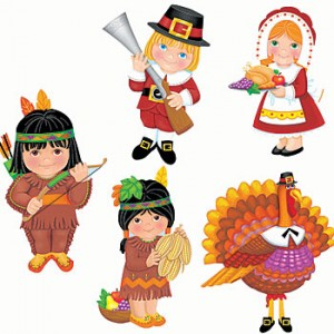 thanksgiving party cutouts