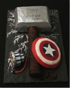 thor hammer cake