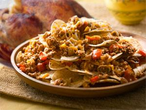 turkey and nachos