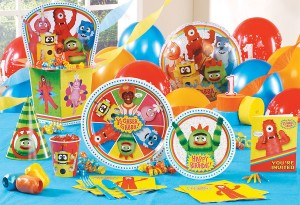 Yo Gabba Gabba Party pack