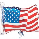 Independence Day party flag balloon